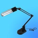 Светильник настольный Camelion KD-017А, G23, черный, тип лампы - энергосберегающая 11Вт,с фиксатором