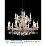 Люстра VE 916 10+5 Half cut glass VE 916/10+5/HCG Masiero