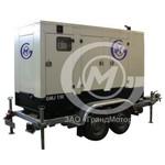 Дизельный генератор  GMJ130 номинальной мощности - 120 кВА