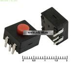 Кнопки PBS1202B 1.5A 250V (от 500 шт.)