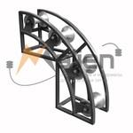 Ролик кабельный угловой РКУ 4-120А
