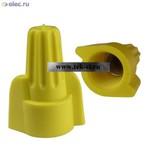 Соединители проводов закрытые  P3 желтый (от 500 шт.)