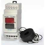 Мультиметр на дин DIN рейку вольтметр+амперметр цифровой щитовой особо точный электронный в шкаф