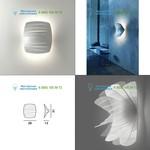 Foscarini 25100510 white, накладной светильник