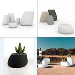 VONDOM Stone Planter/ Pots BASIC светильник, Depends on lamp size
