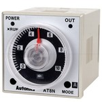 AT8N Многофункциональный аналоговый таймер, 100-240VAC/24-240VDC, DPDT, Autonics