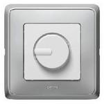Светорегулятор Cariva поворотный, 300Вт слоновая кость | арт. 773717 | Legrand