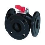 Трехходовой поворотный клапан N4241 Siemens VBF21.40, VBF21.50, VBF21.65, VBF21.80, VBF21.100