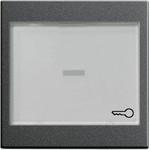 067628 System 55 Клавиша с большим полем для надписи для клавишных и кнопочных выключателей
