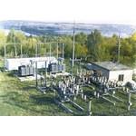 Комплектные трансформаторные подстанции блочные  КТП  Б(М) 220, 110, 35 кВ