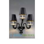 Бра 1151/A3 Nero/Cristallo/Nero Vetri Lamp