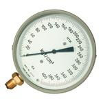 Манометр для точных измерений  кислостойкий МТИ-1511