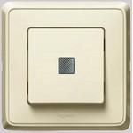 Кнопка Cariva с подсветкой, белая | арт. 773613 | Legrand