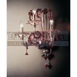 070650A03 7065 A3 серебро-прозрачный,красный,цветы,De Majo