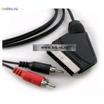 Аудио/видео шнуры SCART-2RCAm 1.5m (от 200 шт.)