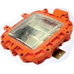 Малогабаритный взрывозащищенный светильник для низких помещений под металогалогенную лампу (КВАДРО-Г-70