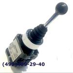 XD2-PA22 Джойстик 2 положения без фиксации, посадочное отверстие 22 мм, металлическое основание