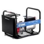 Бензин генератор SDMO HX 7500T-2. Портативный бензогенератор 6.0 кВт.