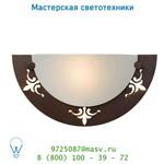 Настенный светильник 71298/01/97 Lucide FAMAGASTAWandl. E27 34/17/9.5cm Scavo Glas/Rust