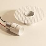 Flexa Lighting ZQC001 PLASTERBOARD RECESSING FRAME ZERO R2/6 WHITE, точечный светильник