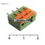 Клеммники нажимные XY122V-3 (5,08mm) (от 500 шт.)