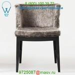 Mademoiselle Kravitz Chair, Faux Fur Kartell