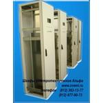 1S1D5.16.4 Шкаф электротехнический Альфа 500*1600*400 (ширина*высота*глубина) Одностороннего обслуживания одна дверь