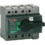 Выключатель-разъединитель INTERPACT INS80 3П экстренного отключения | арт. 28920 Schneider Electric