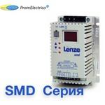 ESMD551X2SFA Преобразователь частоты, однофазный вход (220 Вольт) мотор 0,55 kW, LENZE SMD Серия