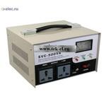 Стабилизаторы напряжения SVC-1P 500VA (от 3 шт.)