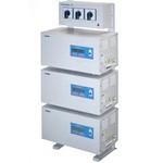 Стабилизатор напряжения электронный PROGRESS 24000L 3-ф(24 кВА), Uвх.(фазн)107-275В, Uвых.(фазн.)220+/-1,5%, гар 3 года.