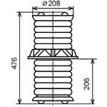 Изолятор ИП-10/1000-3150-30 УХЛ2