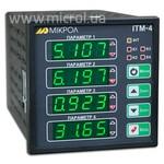 Четырехканальный микропроцессорный технологический индикатор ИТМ-4