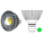 LED лампа 60 MR16(GU10) 3 Вт 220 Вольт Зеленый