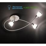 618490307 matt nickel Trio, накладной светильник > Spotlights