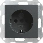 045328 System 55 Розетка с заземляющими контактами 16 А / 250 В с защитой от детей и пиктограммой