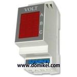 VOLT - трёхфазный вольтметр переменного тока