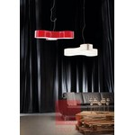 Tris SO glossy milk white подвесной светильник Studio Italia Design