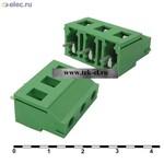 Терминальные блоки DG129-7.62-3 (от 500 шт.)