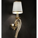 Masiero Luxury Cristalry Gold/A1 Asfour crystal Cristalry, Бра