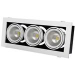 GRAZIOSO 3 LED 3х30 4000K silver clean
