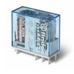 Миниатюрные PCB-реле; выводы с шагом 5мм; Контакты AgNi; Влагозащита; 2CO 10A; катушка DC