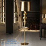 Shuller арт.120920  LENA GOLD FLOOR LAMP