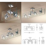 Orbis Ceiling Light Linea Light светильник, Depends on lamp size