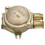 Взрывозащищенная соединительная коробка Wiska 510/D Junction boxes, brass, T6