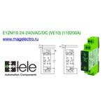 E1ZM10 12-240VAC/DC (цена 10 шт)(110200A) Реле времени многофункциональное