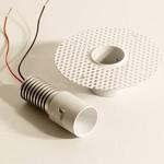 ZW1123 Flexa Lighting ZERO R6 WHITE 40DG CW, точечный светильник
