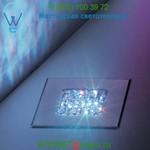 Jazz LED Recessed Floor Light Swarovski