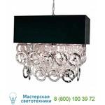 2575/08LA 3816/leg. nero Rings подвесной светильник Eurolampart