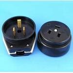 Разъем штепсельный 3-контактный для электроплит РА40-У14/В40-У03